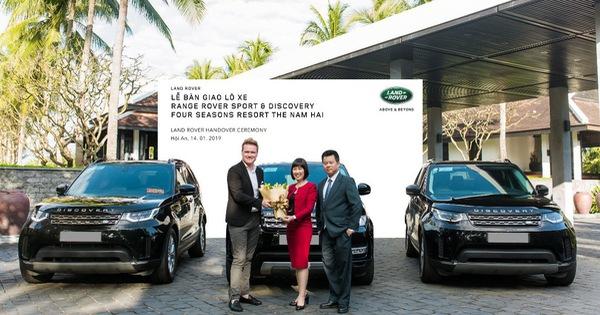 Land Rover Việt Nam bàn giao đội xe cho Four Seasons Resort The Nam Hai