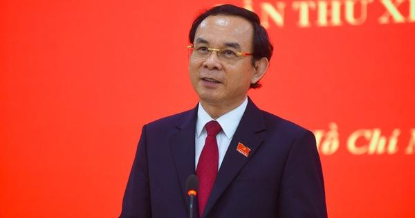 Tân Bí thư Nguyễn Văn Nên: ''Tôi không xem nhiệm vụ sắp tới là áp lực mà là thử thách''