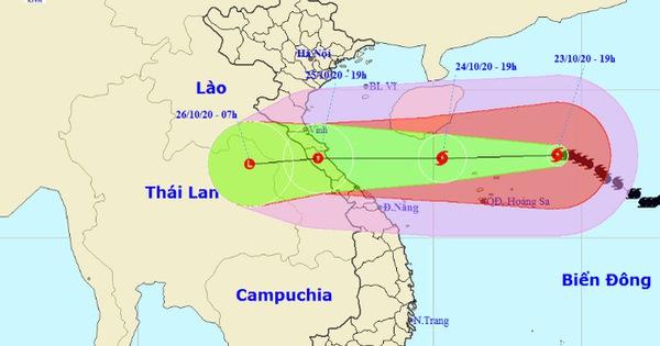 Bão số 8 chỉ cách Hoàng Sa 230km, gió giật cấp 15 - tin bão
