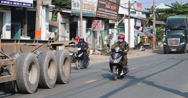 Tiếp tục cấm xe tải đi đường Nguyễn Duy Trinh, quận 9 vào buổi trưa