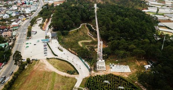 Hợp thức công trình trái phép cầu đáy kính khổng lồ ở Thung lũng tình yêu?