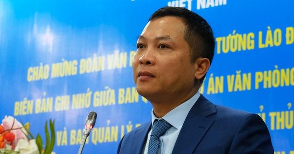 Ông Nguyễn Hồng Sâm là tổng giám đốc Cổng thông tin điện tử Chính phủ