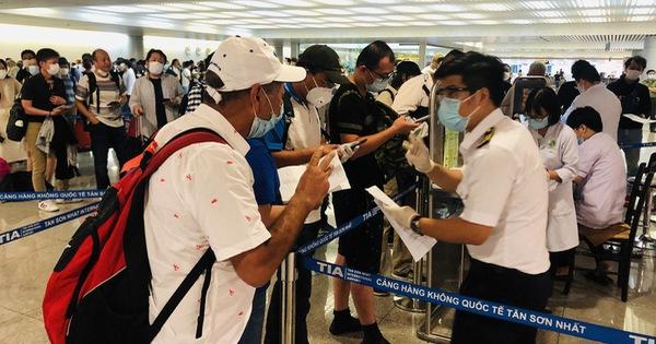 Mới: Bộ Y tế hướng dẫn tạm thời giám sát người nhập cảnh vào Việt Nam