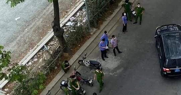 Công an kiểm tra hiện trường TS Bùi Quang Tín tử vong