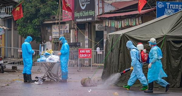 Toàn bộ công an phường Đông Ngạc, Hà Nội bị cách ly vì liên quan bệnh nhân 243