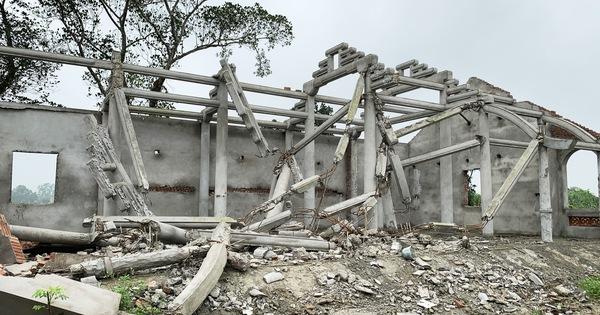 Dân tháo dỡ chùa triệu đô xây chui trên đất di tích quốc gia