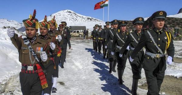 Ấn - Trung đụng độ biên giới, nhiều binh sĩ bị thương