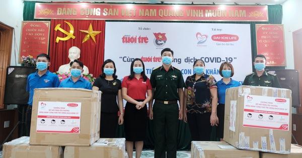 300 triệu đồng 'Cùng Tuổi Trẻ chống dịch COVID-19' đến tay đồng bào Hà Giang