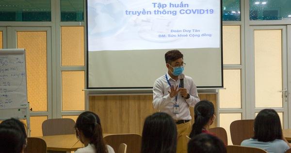 Chuyên gia Mỹ đào tạo về phòng chống dịch COVID-19 cho sinh viên y khoa