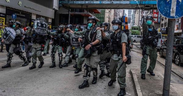 Chính quyền Hong Kong chỉ trích mạnh biểu tình bạo lực, cảnh sát: ''Không tha thứ''