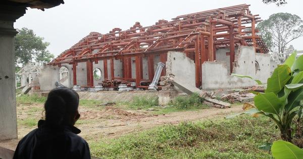 Phạt 110 triệu đồng, buộc tháo dỡ chùa xây chui cả triệu đô