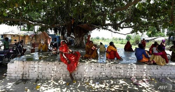 Ấn Độ như 'thiêu đốt' trong nắng nóng 50 độ