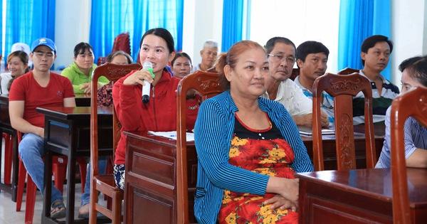 ''Ngôi làng bền vững'': Người dân được tập huấn nhiều kỹ năng hữu ích