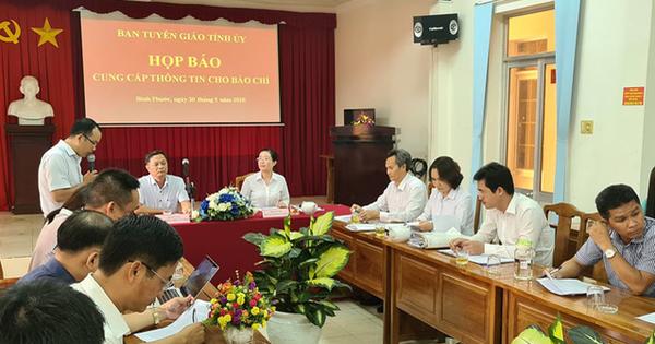 Bình Phước họp báo vụ bị cáo tự tử sau khi nghe tuyên án
