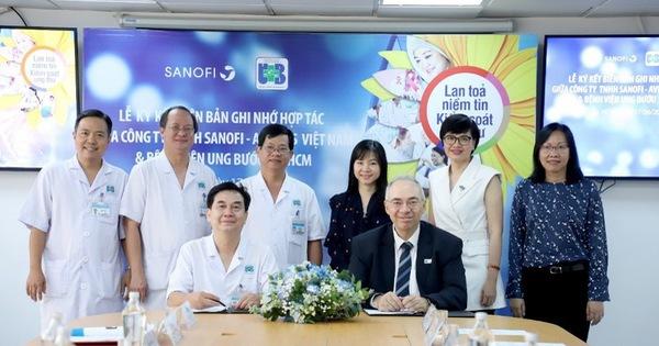 Bệnh viện Ung bướu TP.HCM hợp tác cùng Công ty Sanofi-Aventis Việt Nam