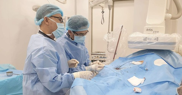 30 phút cứu sống bệnh nhân vỡ gan không cần phẫu thuật