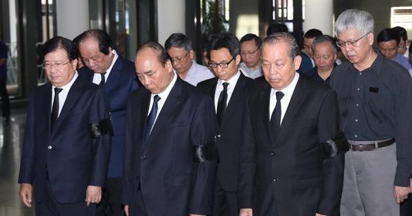 Tiễn đưa nguyên Chủ nhiệm Văn phòng Quốc hội Vũ Mão về nơi yên nghỉ