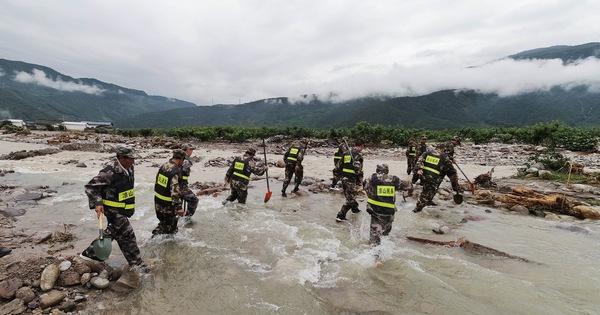 Lũ Lụt ở Trung Quốc Lam Nhiều Người Chết Ong Tập Yeu Cầu Tập Trung Nỗ Lực Cứu Hộ Tuổi Trẻ Online