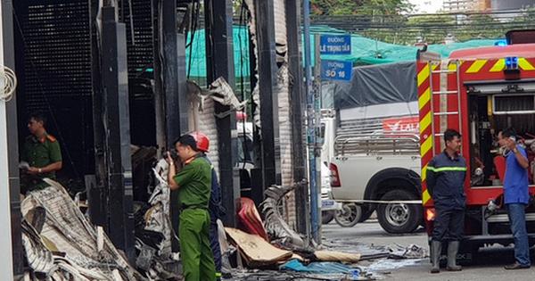 Cháy nhà ở TP.HCM, 1 người chết, 3 người bị thương