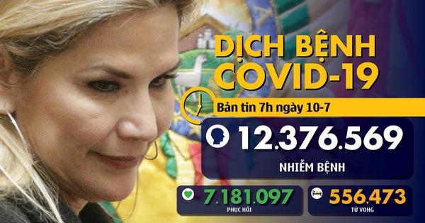 COVID-19 ngày 10-7: Nữ tổng thống Bolivia mắc bệnh, Philippines có số tử vong hàng ngày kỷ lục