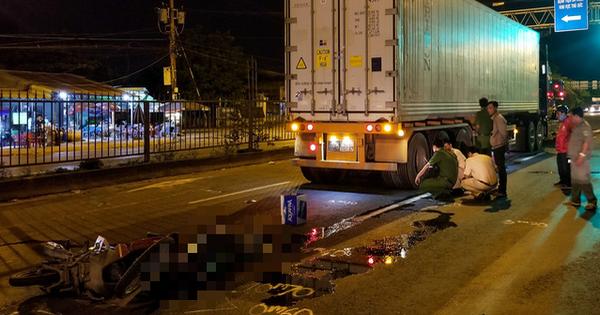 Chạy xe máy vào đường cấm, hai người thương vong