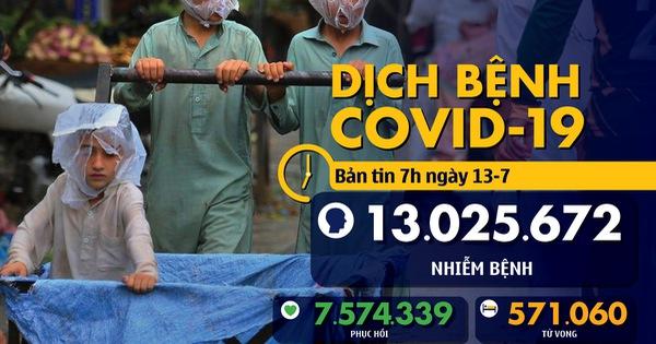 Dịch COVID-19 ngày 13-7: Cảnh báo virus biến chủng, thủ đô Philippines tái phong tỏa một phần