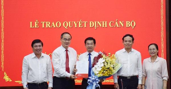 Ông Dương Ngọc Hải làm chủ nhiệm Ủy ban Kiểm tra Thành ủy TP.HCM