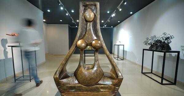 Ngắm tác phẩm của các điêu khắc gia sau mùa dịch COVID-19