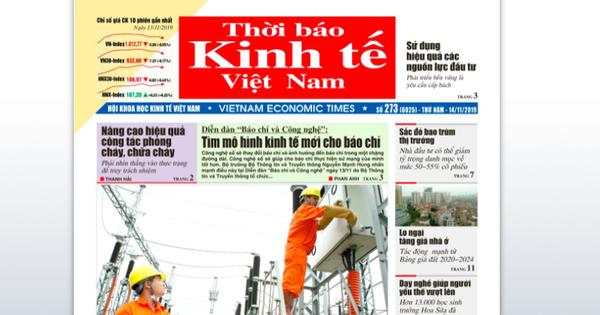 Thời báo Kinh tế Việt Nam đột ngột giải thể