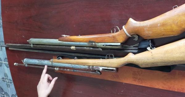 Phá ổ làm súng, đạn bán chỉ 500.000 đồng một khẩu