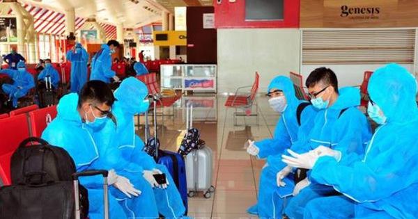 Gần 270 người Việt từ Cuba và Đức về nước