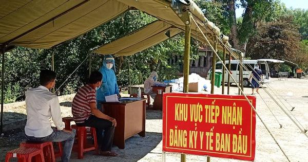 Lịch đi lại của hai bệnh nhân dương tính với COVID-19 ở Quảng Nam