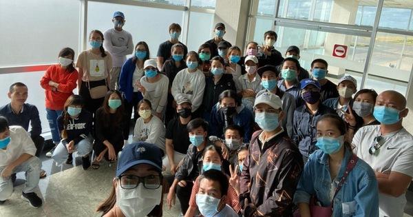 200 công dân Việt Nam ở Nam Á về nước