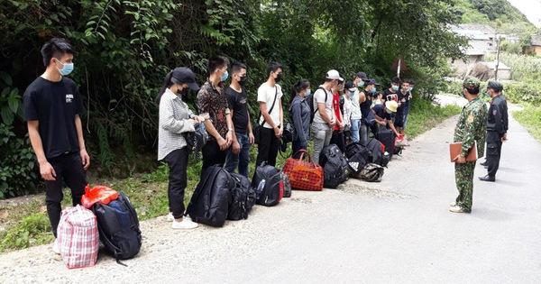 """Nhập cảnh trái phép """"nhộn nhịp"""" vùng biên Hà Giang, chỉ một đồn đã bắt được 2.500 người"""