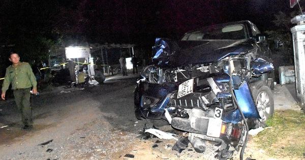 Lái xe bán tải gây tai nạn 4 người chết: tài xế đối mặt 7-15 năm tù