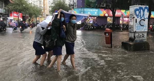 TP.HCM có khả năng mưa trong 10 ngày tới