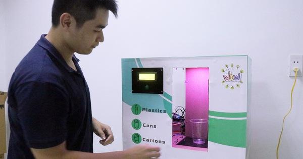 Máy phân loại rác tự động ''made by'' sinh viên