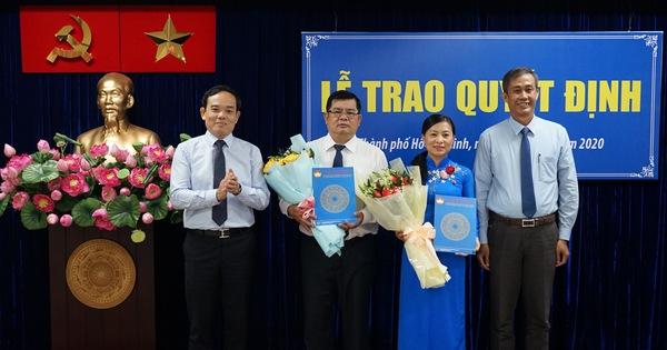 Trao quyết định công nhận 2 phó chủ tịch Ủy ban MTTQ Việt Nam TP.HCM