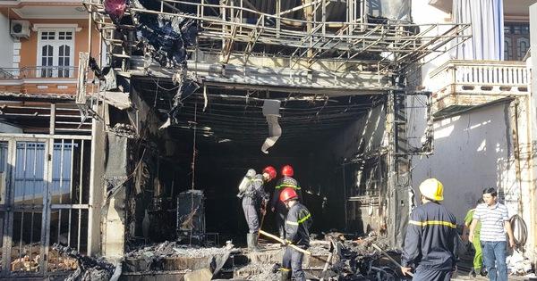 Hỏa hoạn thiêu rụi một cửa hàng thời trang ngay trung tâm Huế