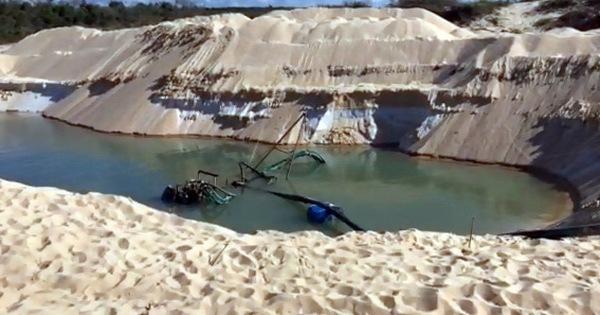Khó xử vụ trộm cát rành rành vì tỉnh ''sợ… bị kiện''