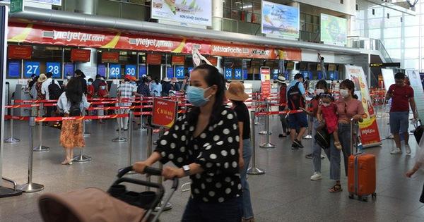 Từ 0h ngày 12-8, tiếp tục dừng các chuyến bay chở khách đến Đà Nẵng