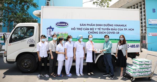 Vinamilk ủng hộ 8 tỉ đồng chống dịch COVID-19