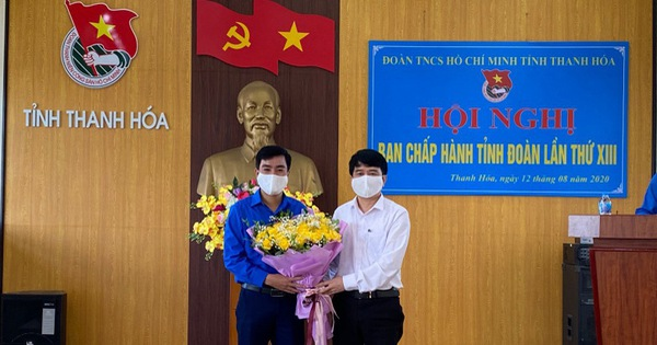 Anh Lê Văn Châu được bầu làm bí thư Tỉnh đoàn Thanh Hóa