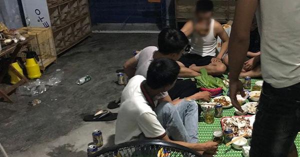 7 thanh niên ở Đà Nẵng tụ tập ăn nhậu khi đang giãn cách xã hội