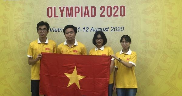 Học sinh Việt Nam đoạt huy chương vàng Olympic Sinh học quốc tế