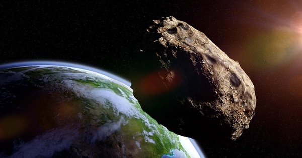 Tiểu hành tinh ''rắn quỷ'' sắp tiếp cận Trái đất