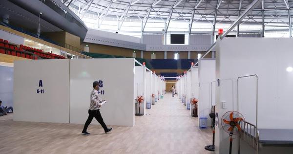 Cận cảnh bệnh viện dã chiến tại Đà Nẵng trước giờ bàn giao