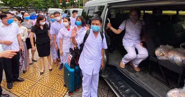 Đà Nẵng gọi, y bác sĩ Hải Phòng sớm trả lời, lên đường vào 'tâm dịch'