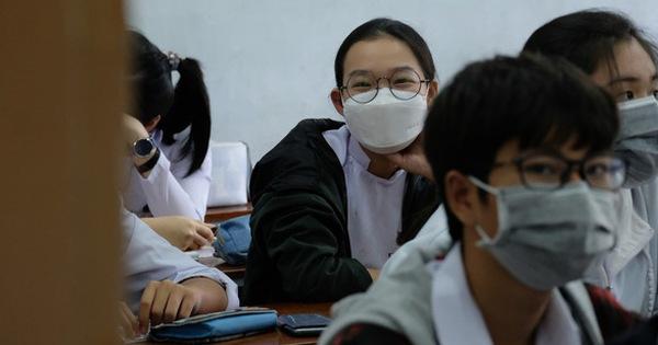 TP.HCM: Học sinh phải đeo khẩu trang khi thi tốt nghiệp THPT