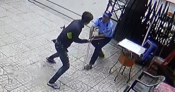 Lời khai ban đầu của thanh niên cầm dao ''quyết đấu'' bảo vệ chung cư